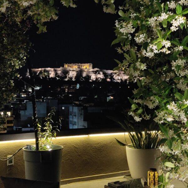 Penthouse Acropolis hill view