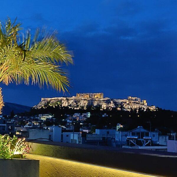 Penthouse Acropolis view