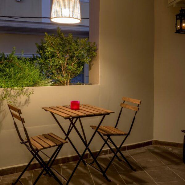 Suite 102 Balcony