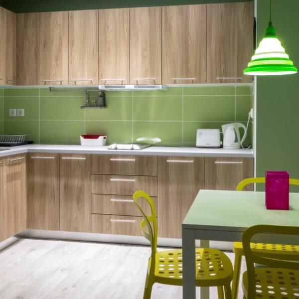 Suite 202 Kitchen