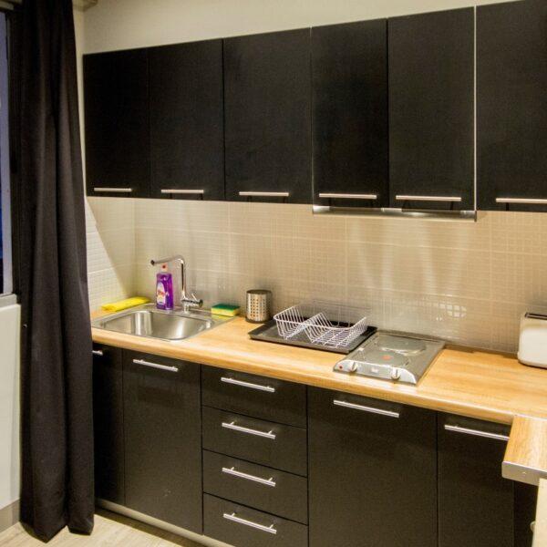 Suite 203 Kitchen
